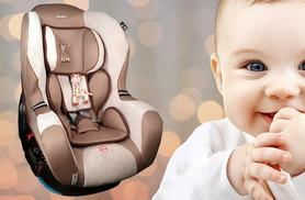 £99.99 instead of £174.05 for a  Sophie La Giraffe child's car seat - save up to 43%
