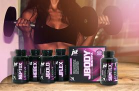£39 instead of £115.46 (from JST Jodie) for a JBODY Beautiful supplement collection and 30-day* supply of SEMTEX 'Fat Burner' - save 66%