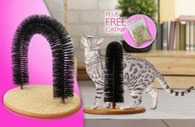 £5.99 instead of £24.99 (from London Exchainstore) for a Purrfect cat self-groomer and scratcher - save 76%