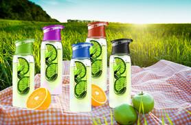 £5.99 instead of £19.99 (from SA Products) for a 700ml fruit-infusing water bottle, or £11.99 for two - stay hydrated and healthy and save up to 70%