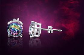 £6 instead of £58 (from Evoked Design) for a pair of mystic topaz and sterling silver earrings - save 90%