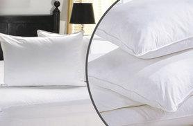 From £10 instead of £38.99 (from Groundlevel.co.uk) for two duck feather pillows, or £19 instead of £77.98 for four - save up to 74%