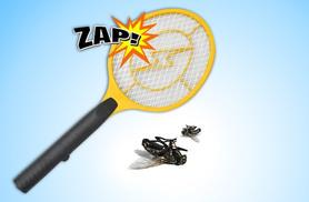£3.99 for a hand-held bug zapper racket, £6.50 for two!