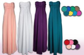 £6.99 instead of £23.99 for a maxi dress in up to 13 different colours and sizes 8-10 to 26 - save 71%