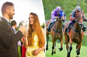£35 instead of up to £70 for race day and behind the scenes tour for two people at 15 UK locations with Activity Superstore - save up to 50%