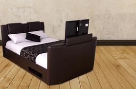 £599 instead of £1110 for a double size wireless TV bed frame, £649 for king size from Wowcher Direct - save up to 46%