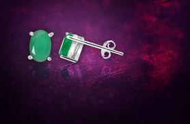 £6 instead of £58 (from Evoked Design) for a pair of Emerald stud earrings - save 90%