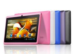 £32 (from Qualite) for a seven-inch Quad Core Android tablet PC - choose from five colours!
