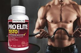 £9 instead of £35.99 (from The Protein Lab) for a 1-month* supply of Pro Elite 'Testosterone-Boosting' capsules, £17 for a 3-month* supply - save up to 75%