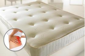 From £89 for a single orthopaedic mattress, £119 for a double, £139 for a king size, or upgrade to include a mattress topper!
