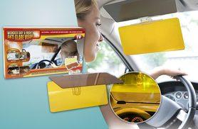 £3.98 instead of £19.99 (from London Exchainstore) for a tinted sunshade car visor extension - save 80%