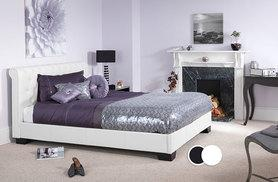 £169 (from Mattress Shed) for a small double Chesterfield scroll bed, £179 for a double, £199 for a king size or £239 for a super king size -  save up to 54%