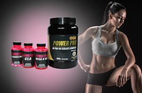 £29.99 instead of £77 (from Power Pro) for a weight management supplement bundle including 800g Hi Pro 80 Isolate Protein - choose from 6 flavours and save 61%