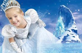 £9 instead of up to £60 for a Frozen-inspired ice princess photoshoot for up to two kids including two prints at Wink Photography, Birmingham - save up to 85%