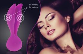 £9.99 instead of £46.01 (from Simply Pleasure) for a rechargeable silicone Palm Bunny vibe for couples - save 78%
