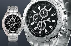 £7.99 instead of £39.99 (from Fakurma) for a men's Orlando watch - choose from four designs and save 80%