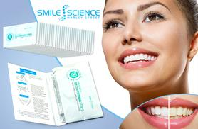 £9 instead of £29 (from Smile Science) for a pack of 28 teeth whitening strips - save 69%