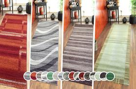 £12 for an Oslo hallway runner rug - choose from nine designs!