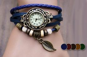 £6 instead of £32 (from Marcus Emporium) for a bohemian-style beaded wraparound watch - save 81%