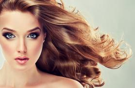£42 for a Brazilian blow dry and Moroccan oil finish from Sat-Sun at Praed St., or £49 with a senior stylist from Tues-Fri at Spring St. with Contrasti!