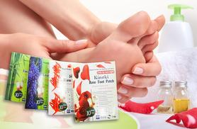 £5 instead of £22.95 (from SalonBoxed) for 10 Kinoki 'detox' foot patches, £8 for 20 or £11 for 30 - treat those hard-working feet and save up to 78%