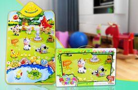 £8.99 instead of £29.99 (from Pretty Essential) for a kids' farmyard mat with sounds and music - save 70%