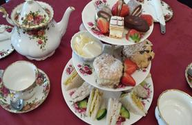 £24 instead of £49.95 for a premium Champagne afternoon tea for two people with Into the Blue, Weston-super-Mare - save 52%
