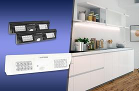 £6.99 instead of £24.99 (from Groundlevel.co.uk) for an eight-bulb under-cupboard LED strip light, or £10.99 for a 16-bulb strip - save up to 72%