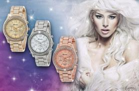 £9 instead of £39.99 (from Fakurma) for a ladies Aurora crystal watch - choose from three colours and save 77%