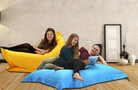 £24.99 instead of £89 (from UK Beanbags) for a Large 'Big Brother' beanbag, or £34.99 for an XL 'Big Brother' beanbag - choose from 9 colours and save up to 72%