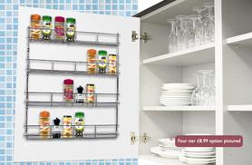 £3.99 instead of £8 (from Zoozio) for a single-tier in-cupboard spice rack, £6.99 for three tiers, £7.99 for four tiers or £8.99 for five tiers - save up to 50%