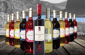 £34 instead of £159.95 (from Premium Rioja) for 12 bottles of Spanish wines - savour reds, whites and rosés and save 79%
