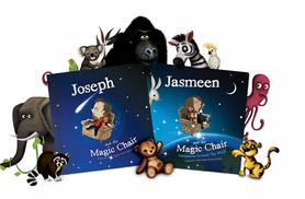 £7 instead of £14.99 (from Magic Chair) for a personalised children's 'Magic Chair' book - put your child in the story and save 53% + FREE DELIVERY!