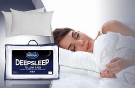 £9.99 instead of £30 (from Chums) for two Silentnight Deepsleep pillows, £15.99 for four or £29.99 for eight - save up to 67%