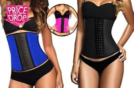 £17.99 instead of £65 (from Boni Caro) for a latex 'waist trainer' - choose from pink, blue or black and save 72%