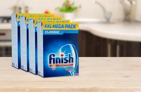 £9.99 for a pack of 114 Finish Powerball dishwasher tablets, £17.99 for 228 tablets, £26.99 for 342 tablets or £35.99 for 456 tablets - save up to 67%