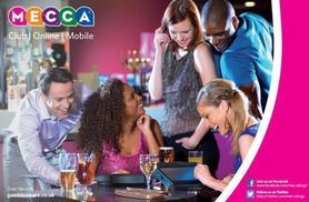 £7.49 for a game of bingo for two people including a bottle of wine at Mecca Bingo - choose from 23 locations!