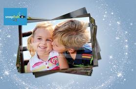 """£1 instead of £7.20 (from Snapfish by HP) for 100 6"""" x 4"""" photo prints - save 86%"""