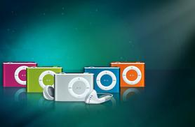 £8 instead of £49.99 (from Gizmo Gadgets) for an 8GB shuffling mini MP3 player - choose from five colours and save 84%