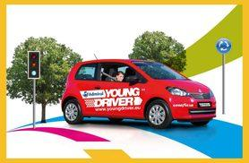 £29 for a 30-minute young driver taster session, £59 for a full 60-minute lesson with Young Driver Training - chose from 41 UK locations and save up to 17%