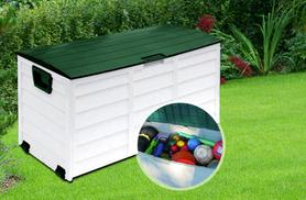 £34.99 instead of £125.99 for a 250-litre weatherproof garden storage chest - clean up and save 72%
