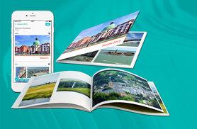 £1 (from SNAPCAM) for a 12-page, 72 image soft cover photobook for your favourite pictures in physical form - save 80%