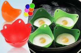 £2.99 instead of £10 (from CK Collections) for two silicone egg poachers, or £4.99 for four - save up to 70%