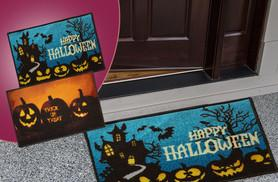 £4.99 instead of £29.99 (from The Rug Shop) for a Halloween themed 'dirt grabber' doormat in a choice of two designs - save 83%