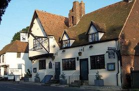 £69 (at The Dog Inn, Kent) for a 1-night stay for 2 including dinner, sparkling wine and breakfast, £99 for 2 nights, £129 for 3 nights - save up to 54%