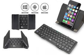 £16.99 instead of £46 (from 1 by One) for a wireless Bluetooth keyboard with touchpad, or £19.99 for a folding wireless Bluetooth keyboard - save up to 63%