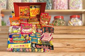 £11.99 instead of £39.99 for a retro sweets collection containing 30 varieties - indulge your sweet tooth and save 70%