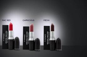 £10 instead of £15.45 for a choice of MAC lipstick from Wowcher Direct - choose from 14 shades and save 35%