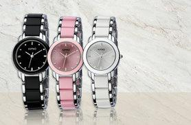 £9 (from Fakurma) for a ladies' ceramic-look watch - choose from black, pink or white!