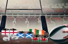 £8 instead of £19 (from Aspire) for a pair of rugby themed cufflinks in a choice of five great styles - save 58%